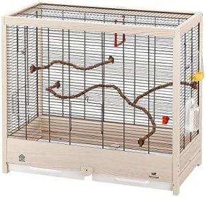 Jaulas de madera para pájaros