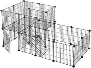 Las jaulas para conejas SONGMICS metálica