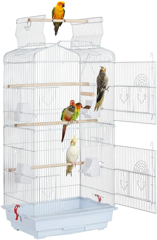 jaulas para canarios Yaheetech color blanco