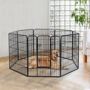 Pow Hut parque para perros